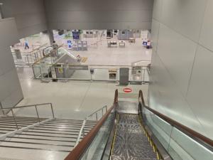 日本到着空港でコロナ検査をうける手順と所要時間について